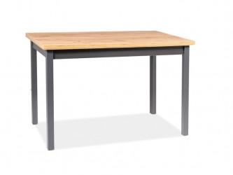 Adam asztal lancelot tölgy / antracit 100*60