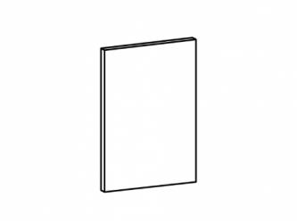 Aspen ajtófront 570 x 446 fényes fehér